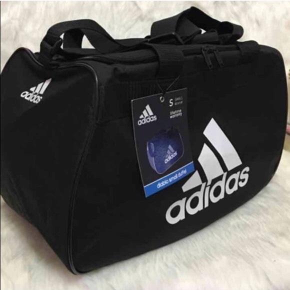 f4dca170c40 adidas Bags   Bestseller Black White Gym Duffle Bag   Poshmark